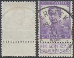 """Pellens - N°117 Obl Simple Cercle """"Etterbeek A"""" - 1912 Pellens"""