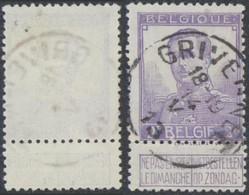 """Pellens - N°117 Obl Simple Cercle """"Grivegnée"""" - 1912 Pellens"""
