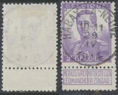 "Pellens - N°117 Obl Simple Cercle ""Habay-la-neuve"". Superbe ! - 1912 Pellens"