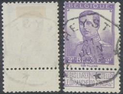 "Pellens - N°117 Obl Télégraphique ""Heyst"" - 1912 Pellens"