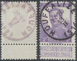 "Pellens - N°117 Obl Simple Cercle ""Houffalize"". Superbe ! - 1912 Pellens"