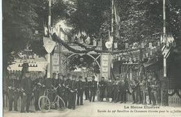 LA MEUSE ILLUSTRÉE Entrée Du 29e Bataillon De Chasseurs Décorée Pour Le 14 Juillet - Saint Mihiel