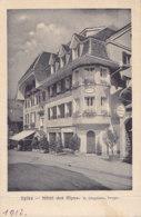 Spiez (Suisse) - Hôtel Des Alpes - BE Berne