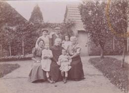 Balleroy 14 Calvados Photo Ancienne De Famille Le 8 Octobre 1907 - Lugares