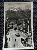Autriche, Tyrol - Carte Photo INNSBRÜCK MARIA THERESIENSTRASSE (Echte Photographie Aufname C. Verlag F. Spranger) [anima - Innsbruck