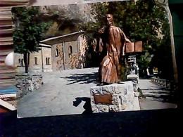REGGIO EMILIA PIETRA BISMANTOVA  STATUA SAN BENEDETTO V1975  HN6672 - Reggio Nell'Emilia