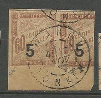 INDOCHINE  TAXE N° 1 OBL - Indochina (1889-1945)