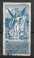 Vignette  Jeux Olympiques Internationaux Athènes 1906 22/04 Au 02/05 Oblitéré B/  TB  Soldé Le Moins Cher Du Site ! ! ! - Summer 1896: Athens