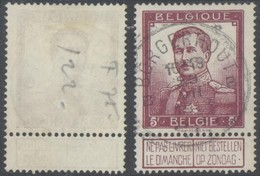 "Pellens - N°122 Obl Simple Cercle ""Borgerhout B"". TB - 1912 Pellens"