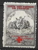 France Vignette  Croix Rouge Union Des Femmes De France   Neuf  *   B/  TB  Soldé Le Moins Cher Du Site ! ! ! - Rotes Kreuz