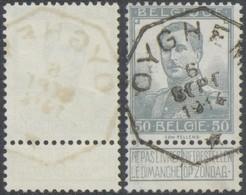 "Pellens - N°115 Obl Télégraphique ""Oyghem"" / Fortune. - 1912 Pellens"