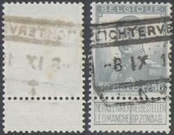 """Pellens - N°115 Obl Chemin De Fer """"Lichtervelde"""" - 1912 Pellens"""