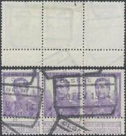 """Pellens - N°117 En Bande De 3 Obl Chemin De Fer """"Olsene N°1"""". TB - 1912 Pellens"""