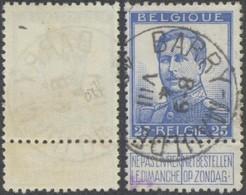 "Pellens - N°120 Obl Simple Cercle ""Barry-Maulde"". Superbe ! - 1912 Pellens"
