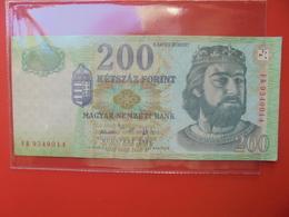 HONGRIE 200 FORINT 2006 CIRCULER (B.9) - Hongrie