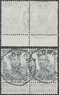 """Pellens - N°115 En Paire Obl Télégraphique Bilingue """"Komen / Comines"""" (1914) / Guerre 14-18 - 1912 Pellens"""