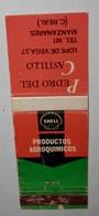 CAJA DE CERILLAS ANTIGUA DE LA SHELL  PRODUCTOS AGROQUIMICOS - Boites D'allumettes