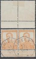 """Pellens - N°116 En Paire Obl Télégrapique """"Thielt"""" - 1912 Pellens"""