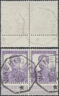 """Pellens - N°117 En Paire Obl Télégrapique """"Waereghem"""" - 1912 Pellens"""