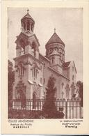 CP Souple - MARSEILLE - église Arménienne, Avenue Du Prado - Castellane, Prado, Menpenti, Rouet