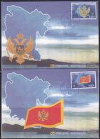 Montenegro, 2005, Definitives - Independance, 1st Issue, FDC - Montenegro
