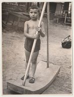 Children Enfants  Boy  Summer Play  -  Garçon Nu   -  VINTAGE  Photo (К) - Anonymous Persons