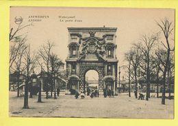 * Antwerpen - Anvers - Antwerp * (Legia) Waterpoort, La Porte D'eau, Animée, Monument, Parc, Unique, Rare - Antwerpen
