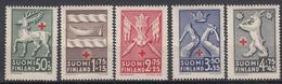 FINLAND - Michel - 1942 - Nr 254/58 - MNH** - Finland