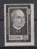 FINLAND - Michel - 1944 - Nr 284 - MNH** - Finland
