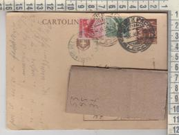 Storia Postale Intero Postale  Lecce 1946  Democratica Serie - 1946-.. République