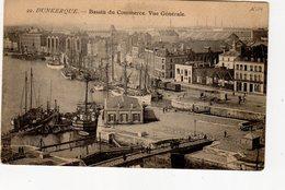 Dunkerque Bassin Du Commerce Vue Générale ( Quai De La Citadelle , Hôtel Restaurant Freycinet , 2 écluses ( Voir Descrip - Dunkerque