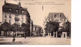 CPA BESANCON (Doubs)  Hôtel Des Bains Et Entrée Du Casino - Besancon