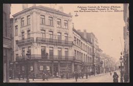 CPA  Bruxelles - Ixelles - Fabrique Centrale De Voitures D'Enfants Jos. ANDRE - Porte De Namur - Dos Pub - Ixelles - Elsene