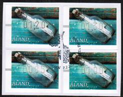 2016 Aland ATM Michel 27 Used Set. - Aland
