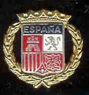 @@ Blason écusson Espagne  (2x2) @@vi47 - Villes