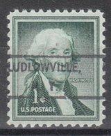 USA Precancel Vorausentwertung Preo, Locals New York, Ludlowville 807 - Vorausentwertungen