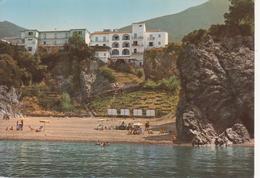 """MARATEA MARINA - SPIAGGIA ANIMATA E HOTEL """"MARISDEA"""" - VIAGGIATA ANNI '60 - Other Cities"""