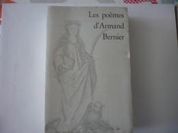 Les Poèmes D'Armand Bernier - Autres