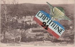 CPA LE LIMOUSIN ILLUSTRE ST SULPICE LAURIERE HAUTE VIENNE VUE GENERALE  X X - Lauriere
