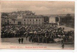 Cholet- Marché Aux Boeufs Un Samedi Matin - Cholet