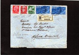 CG9 - Busta Racc. Da Milano X Africa Orientale 1/5/1936 - Italian Eastern Africa
