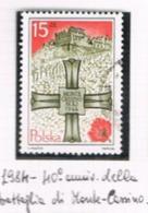 POLONIA (POLAND) - SG 2935  - 1984 MONTE CASSINO BATTLE   - USED° - RIF.CP - Oblitérés