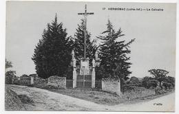 HERBIGNAC - N° 17 - LE CALVAIRE - CPA NON VOYAGEE - Herbignac