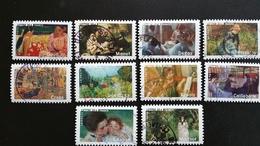 France Timbres  Oblitérés - Année 2006 - Série Les Impressionnistes N° 3866 à 3875 - Francia