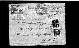 CG9 - Busta Da Varese X Comando II° Reggimento Alpini - A.O.I. Del 26/9/1936 - Italian Eastern Africa