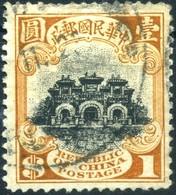 1913 Cina, 1 Dollaro Usato - Chine