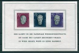 DDR - Michel Block 15 Pfr.** - Blocks & Kleinbögen
