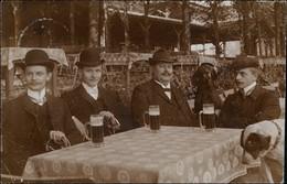 Ansichtskarte Osnabrück Männer Beim Bier Sommergarten 1913 - Osnabrück