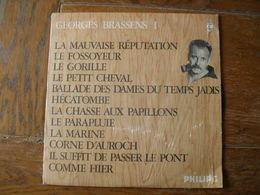 """33 Tours 30 Cm - GEORGES BRASSENS - PHILIPS 844750  """" LA MAUVAISE REPUTATION """" + 11 ( SETE - CETTE ) - Autres - Musique Française"""