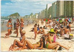 CPM Brésil Rio De Janeiro  Plage De Copacabana - Rio De Janeiro